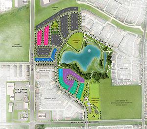 Avalon Aquaview Site Plan, Minto Communities in Orléans