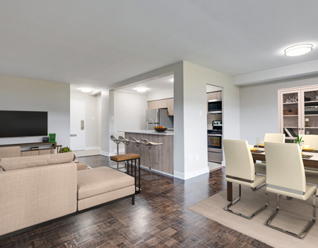 Apartments for Rent at York Mills and Leslie in North York
