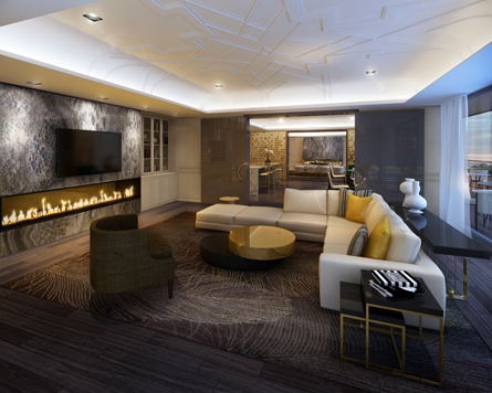 Minto Yorkville Park has lounges, and party rooms, now on sale.