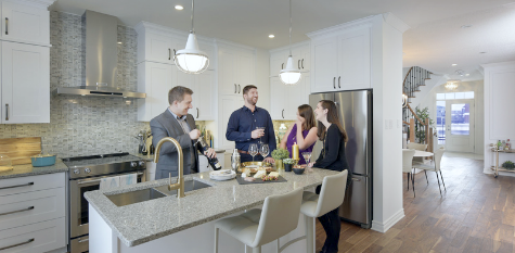 New townhomes for sale at Mohogany, Manotick
