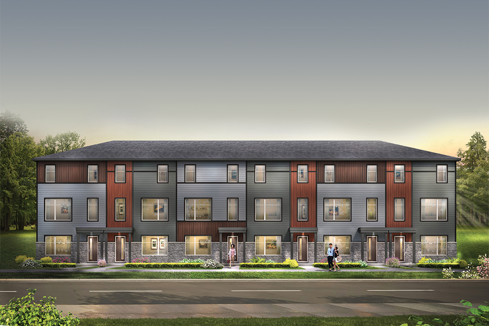 Avalon Aquaview Urban Townhomes. New release of homes for sale at Avalon Aquaview, Minto Communities.