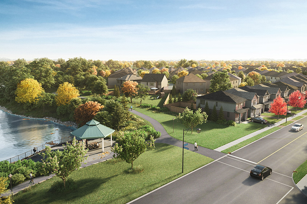 Artist render of Avalon Vista in Orléans. Learn why Avalon is such a great place to live.