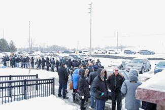 Queen's Landing line up Feb. 7, 2015.