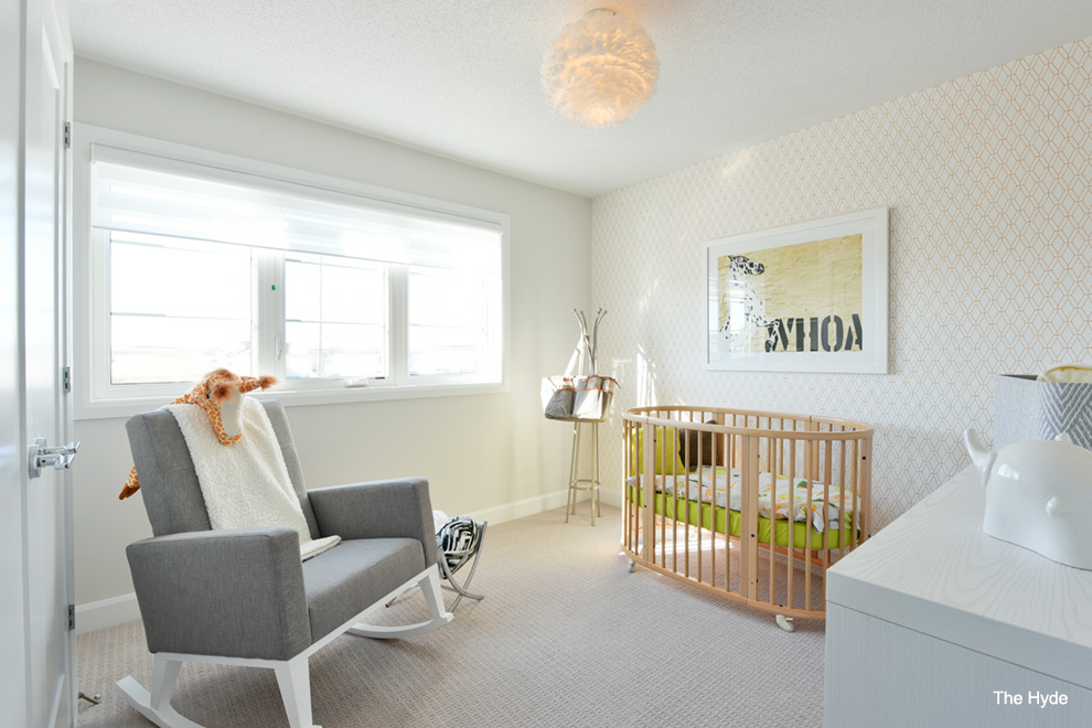 Bright baby room. Choosing the right home for you in Quinn's Pointe, Barrhaven.