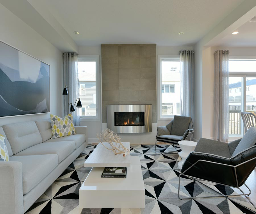 Bright living room design by Minto Communities. 7 reasons to choose Harmony in Barrhaven.