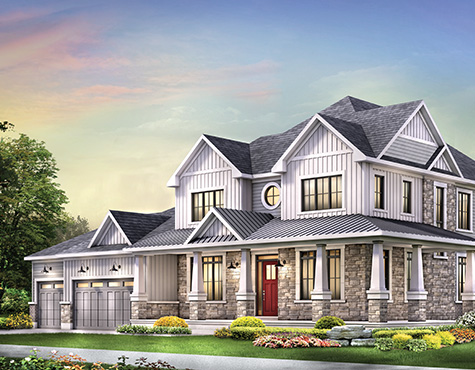 The Caraway design for the CHEO Dream of a Lifetime Lottery