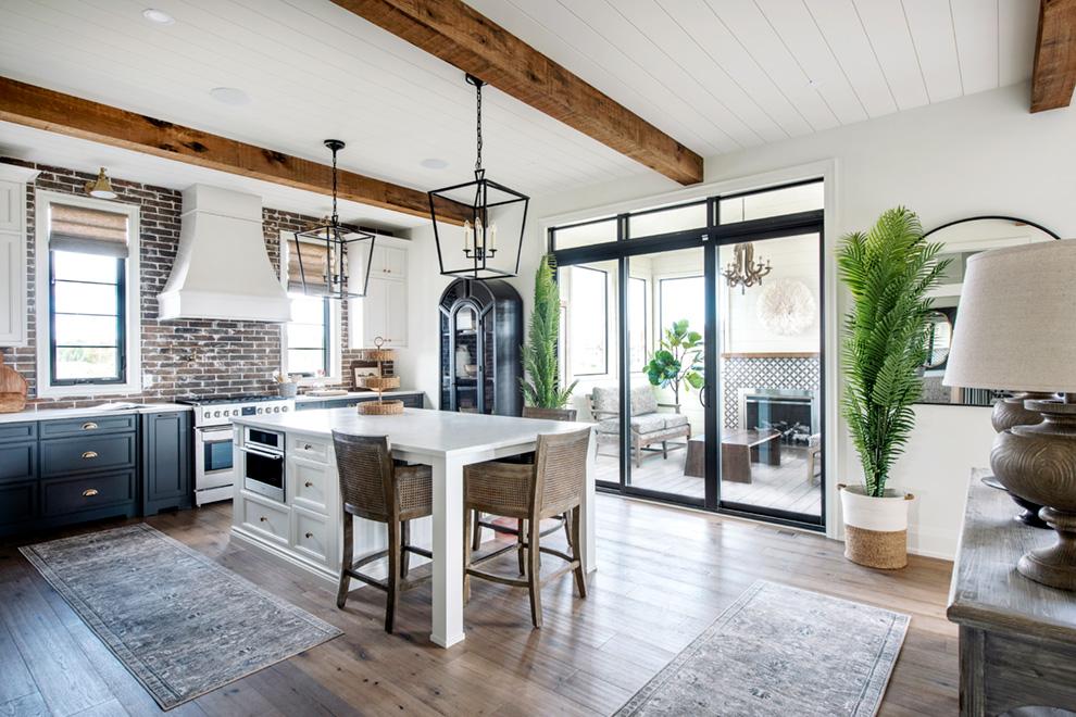 The Bohemian Kitchen and three season room
