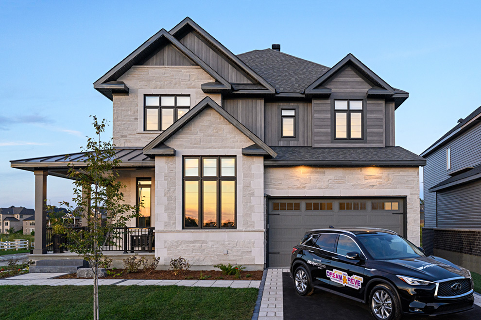 The Bohemian 2020 Minto Dream Home for CHEO Dream of a Lifetime Lottery exterior
