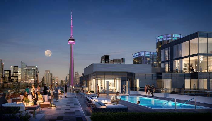 39 Niagara rooftop Rendering