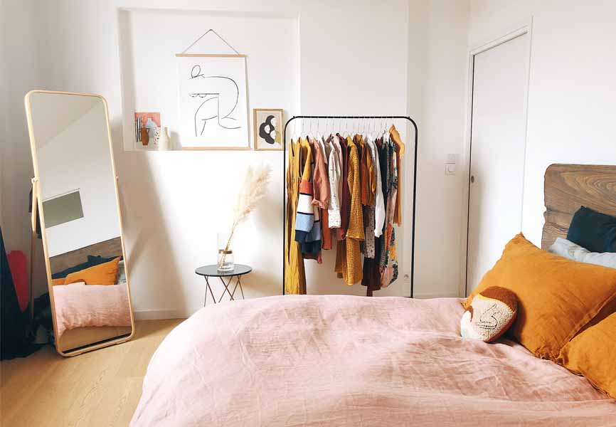 10 Ways To Store Clothes Without A Closet Blog Live Better By Minto