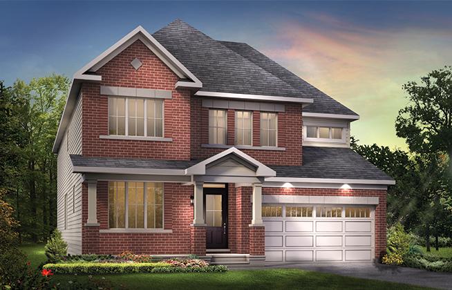 Darlington B Single Family Home, located in Quinn's Pointe, Ottawa