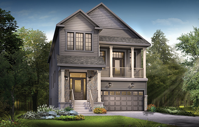 Killarney B Single Family Home, located in Quinn's Pointe, Ottawa