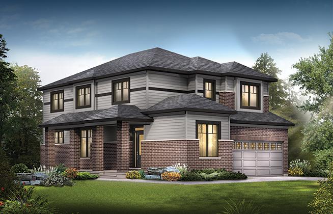 Jasper Corner B Single Family Home, located in Quinn's Pointe, Ottawa