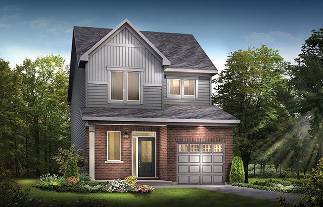 Bellevue B Single Family Home, located in Quinn's Pointe, Ottawa