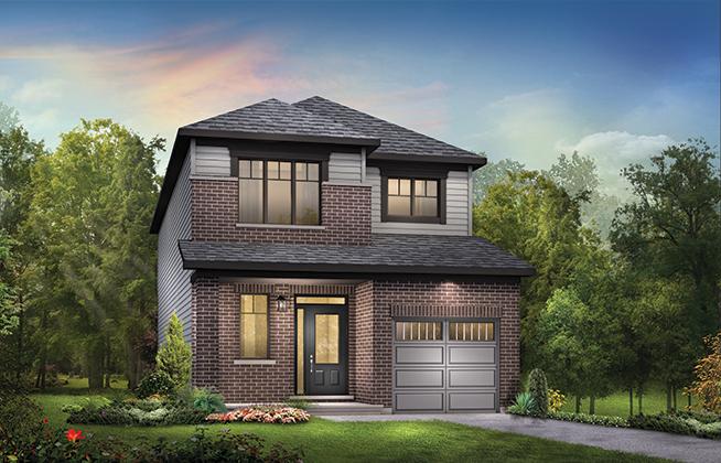 Bellevue C Single Family Home, located in Quinn's Pointe, Ottawa