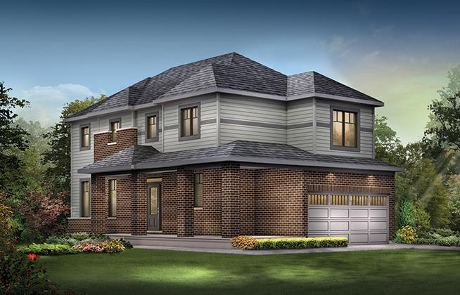 Talbot Corner B Single Family Home, located in Quinn's Pointe, Ottawa