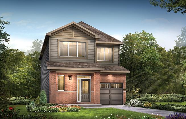 Kinghurst B Single Family Home, located in Quinn's Pointe, Ottawa