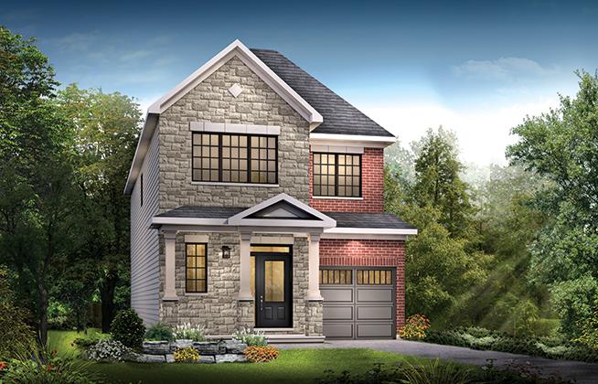 Kinghurst C Single Family Home, located in Quinn's Pointe, Ottawa