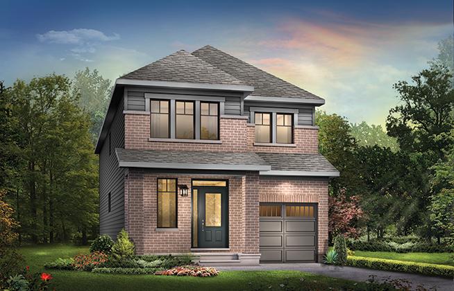 Hyde B  Single Family Home, located in Quinn's Pointe, Ottawa