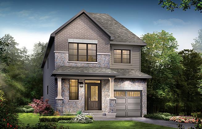 Hyde C Single Family Home, located in Quinn's Pointe, Ottawa