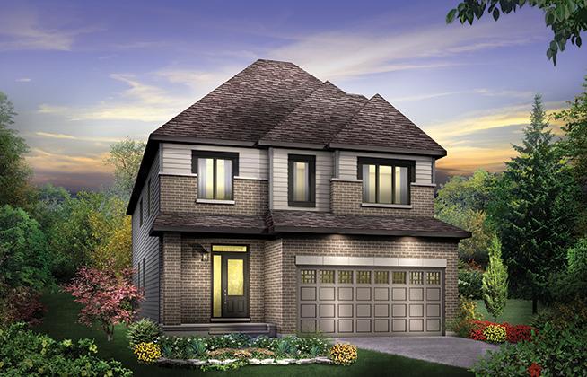 Georgian B Single Family Home, located in Quinn's Pointe, Ottawa