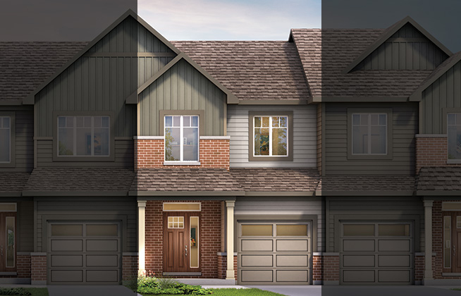 Monterey C Executive Townhome, located in Quinn's Pointe, Ottawa