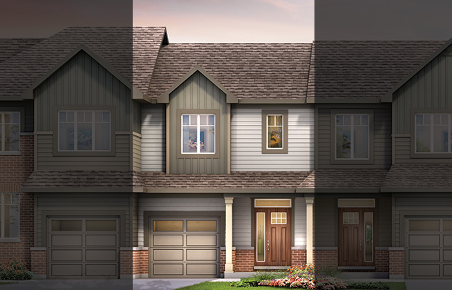 Citrus C Executive Townhome, located in Quinn's Pointe, Ottawa