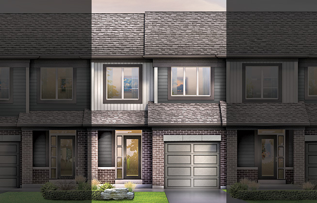 Haven B Executive Townhome, located in Quinn's Pointe, Ottawa