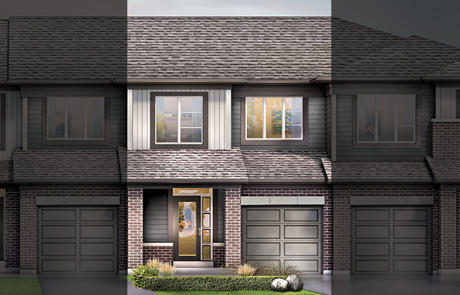 Monterey B Executive Townhome, located in Quinn's Pointe, Ottawa