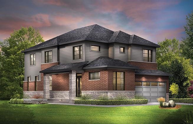 Jasper Corner D Single Family Home, located in Quinn's Pointe, Ottawa