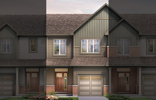 Executive Townhome - Haven C Model
