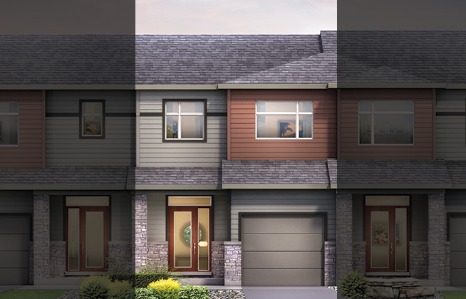 Executive Townhome - Haven D Model