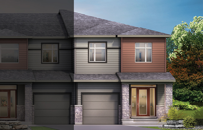 Executive Townhome – Tahoe End D Model