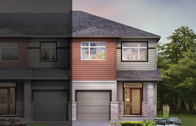 Executive Townhome – Laguna End D Model