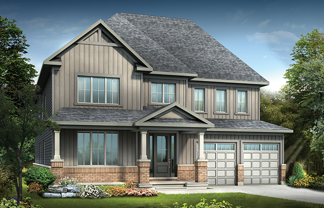 Redwood A Single Family Home, located in Mahogany, Manotick