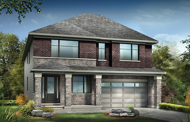 Mulberry B Single Family Home, located in Mahogany, Manotick