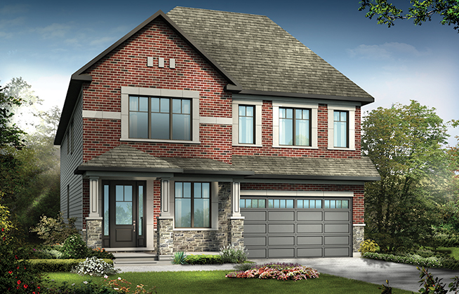 Mulberry C Single Family Home, located in Mahogany, Manotick