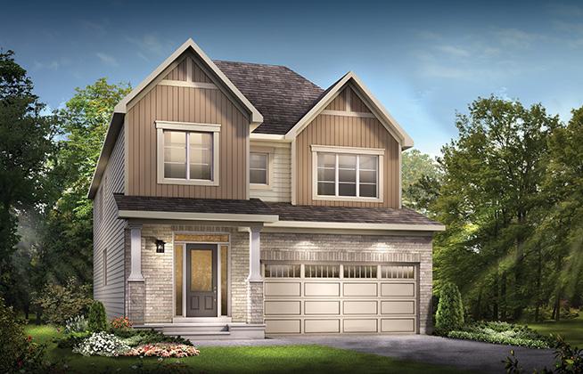 Fitzroy B Single Family Home, located in Quinn's Pointe, Ottawa
