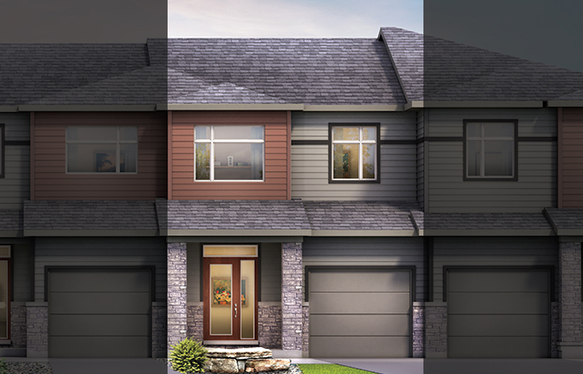 Monterey D Executive Townhome, located in Quinn's Pointe, Ottawa