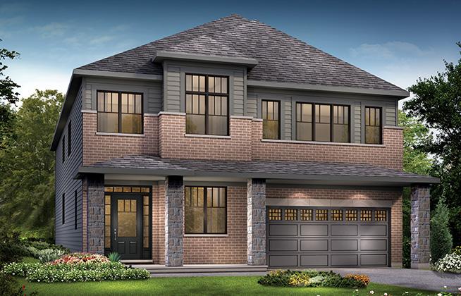 Marquette B Single Family Home, located in Quinn's Pointe, Ottawa