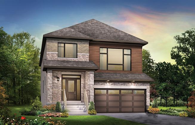 Fairbank C Single Family Home, located in Quinn's Pointe, Ottawa