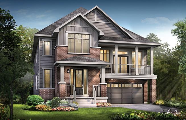 Mapleton B Single Family Home, located in Quinn's Pointe, Ottawa