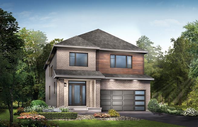 Waverley B Single Family Home, located in Quinn's Pointe, Ottawa