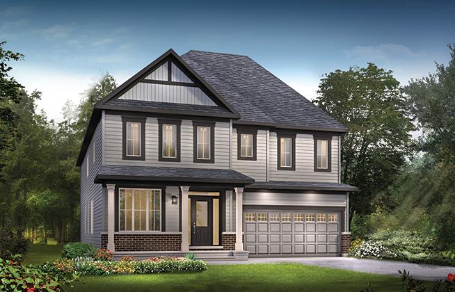 Okanagan 5-Bedroom A | Single Family Home For Sale In Kanata