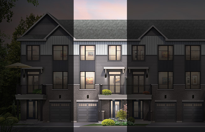 Burnaby B | Avenue Townhome | For Sale in Kanata