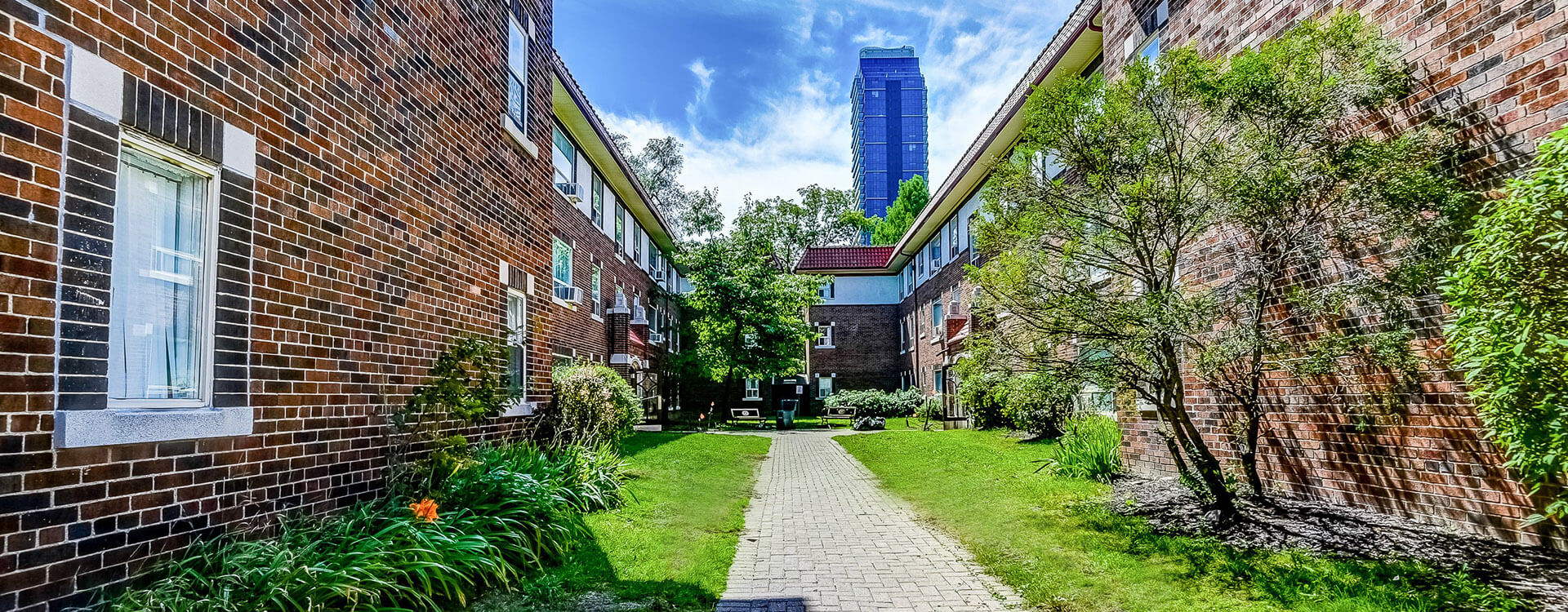 Sherwood Apartments in Toronto. Rent with Minto Apartments.