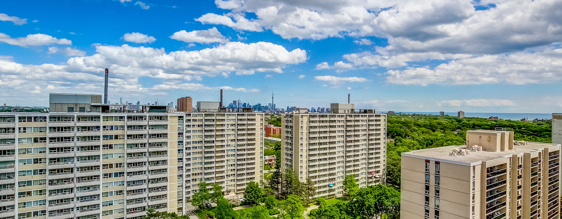 View from Minto Apartments High Park Village