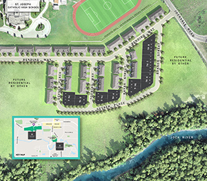 Riversbend Site Plan, Minto Communities in Barrhaven