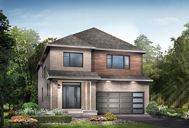 Render of Waverley Single Family Home for sale in Kanata, Ottawa, Arcadia by Minto Communities