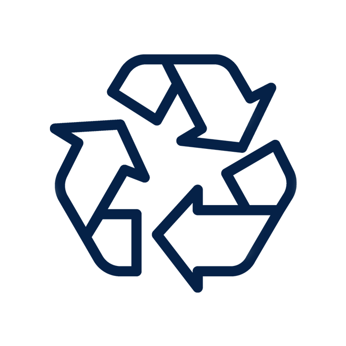 Recycling icon. New homes & condos for sale in Oakville, Oakvillage by Minto Communities